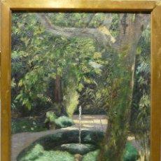 Arte: EL JARDIN POR WALDEMAR THORN (1876-1940). 1905. QUATRE GATS. Lote 45709145