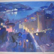 Arte: OLEO TOSSA DE MAR AUGUST ROSELL. Lote 46033100