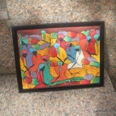 Arte: BONITO Y MUY COLORIDO CUADRO. Lote 46114472