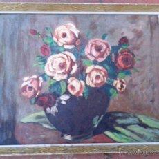 Arte: FRANCESC VIDAL GOMÀ (1894-1970) - OLEO SOBRE TABLA ENMARCADO 42 X 33. Lote 46203730