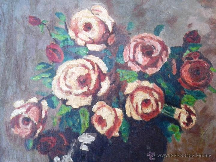 Arte: FRANCESC VIDAL GOMÀ (1894-1970) - OLEO SOBRE TABLA ENMARCADO 42 X 33 - Foto 3 - 46203730