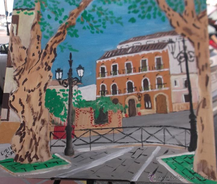 BERJA (ALPUJARRA) CASA DE LOS JOYAS (Arte - Pintura Directa del Autor)