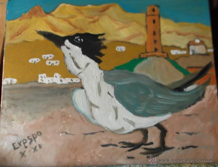 CHARRÁN PATINEGRO (Arte - Pintura Directa del Autor)
