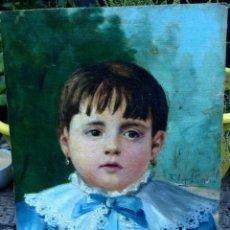 Arte: RICARDO LOPEZ CABRERA (1864/66-1950), PINTOR ESPAÑOL, OLEO SOBRE TELA PEGADA A CARTON. Lote 46303408