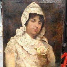 Arte: VICENTE BARREIRA (XIX-XX), PINTOR ESPAÑOL, OLEO SOBRE TELA.. Lote 46311611