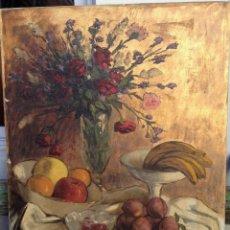 Arte: RAFAEL CUENCA MUÑOZ (1895-1967) NATURALEZA MUERTA ,OLEO/LIENZO. Lote 46317838