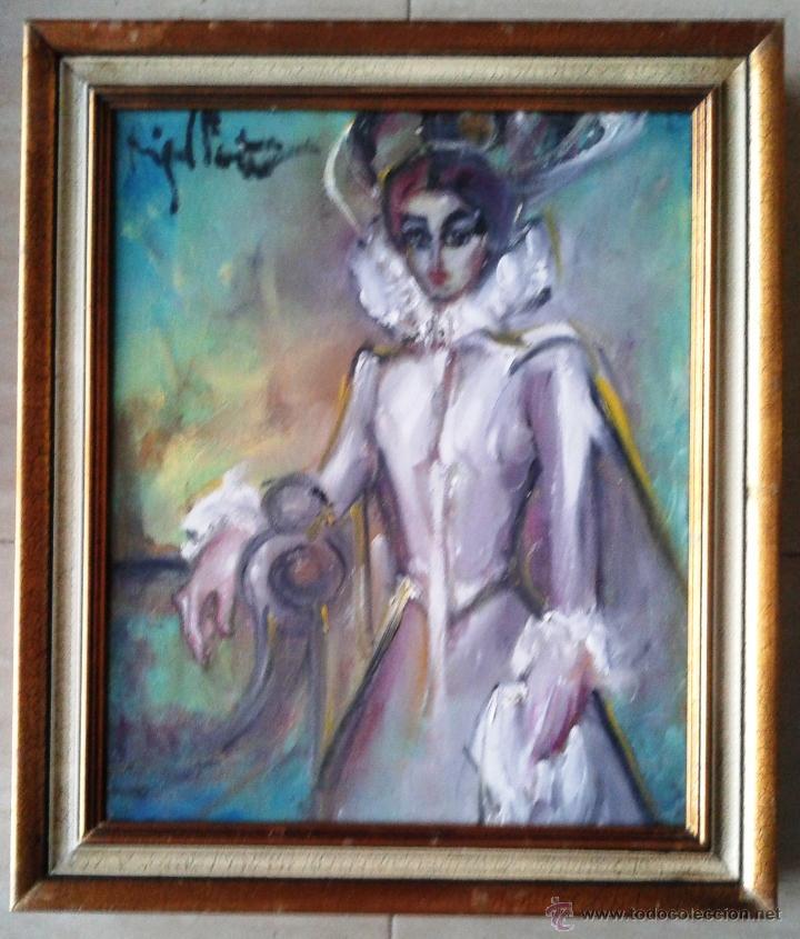 miguel fuster (bcn, 1944) - oleo sobre tela enm - Comprar Pintura al ...