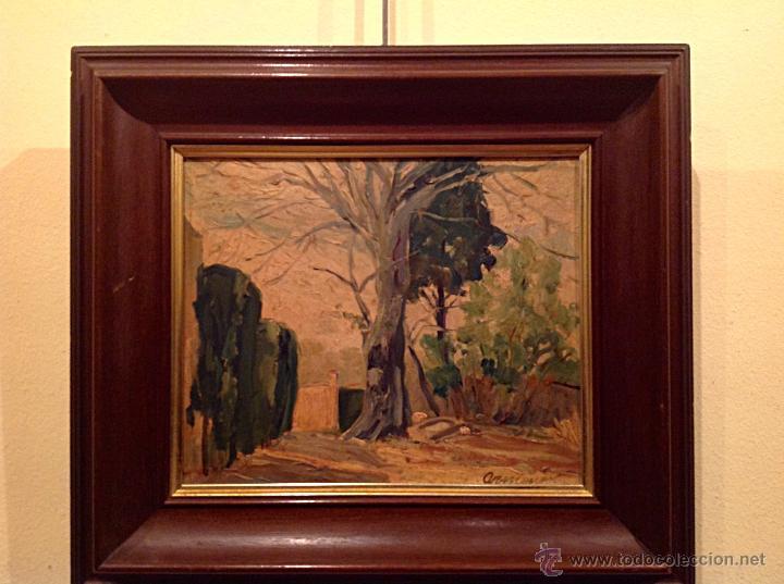 ANTIGUO CUADRO ÓLEO DEL PINTOR ENRIQUE SEGURA ARMENGOT FECHA 1941 (Arte - Pintura - Pintura al Óleo Contemporánea )