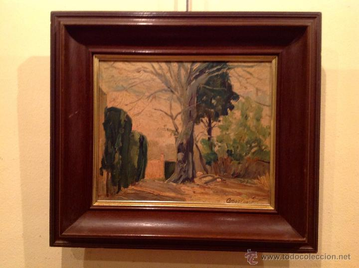 Arte: Antiguo cuadro óleo del pintor Armengot Fecha 1941 - Foto 2 - 46432130