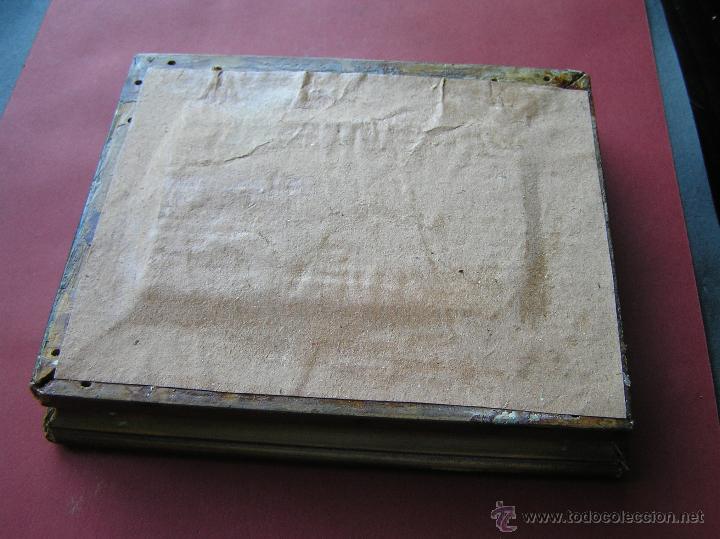 Arte: ÓLEO SOBRE OPALINA. MINIATURA . PRECIOSO RAMO DE ROSAS . Circa 1900. - Foto 15 - 46470956