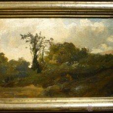 Arte: PAISAJE DE RAMON MARTI ALSINA (1826-94). Lote 46528595