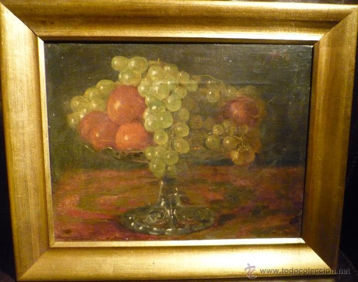 NATURALEZA MUERTA DE VICTORIANO CODINA LANGLIN (1844-1911) (Arte - Pintura - Pintura al Óleo Moderna siglo XIX)