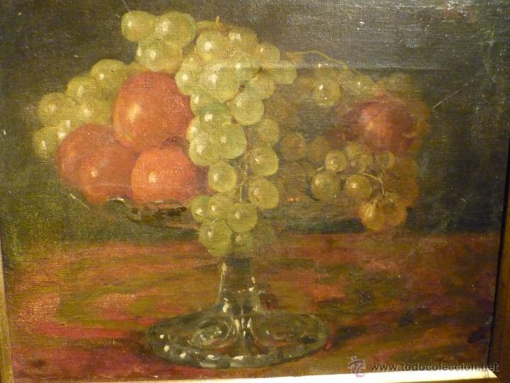 Arte: NATURALEZA MUERTA DE VICTORIANO CODINA LANGLIN (1844-1911) - Foto 2 - 46528924