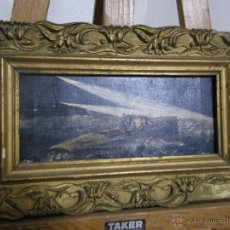 Arte: ANTIGUA PINTURA FECHADA AÑO 1907 Y FIRMADA POR ( P.DIAZ ) ..... . Lote 46667653