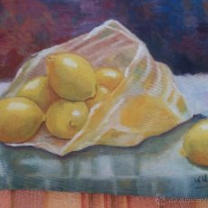 Arte: CUADRO BODEGON AL OLEO. Lote 46740386