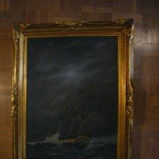 Arte: JOAN ALSINA OLIVER (1912 - ?) : - OLEO DE TEMA MARITIMO - (DIMENSIONES: 55X42 CM) (FIRMADO). Lote 46891887