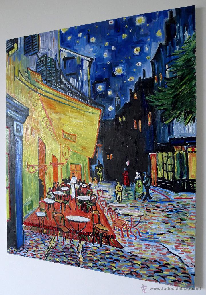 Vincent Van Gogh Terraza De Café Por La Noche O Venduto In