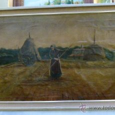 Arte: OLEO ANTIGUO FIRMADO 1905. Lote 47255631
