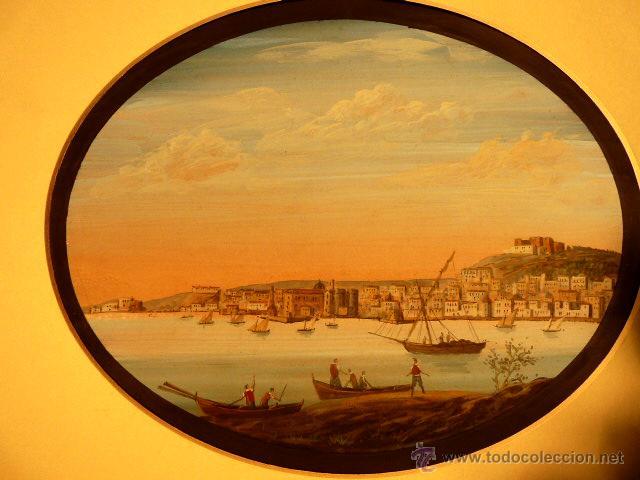 Arte: 3 miniaturas al óleo.Escuela veneciana, podria ser del xviii o anterior??gran calidad - Foto 2 - 120970326