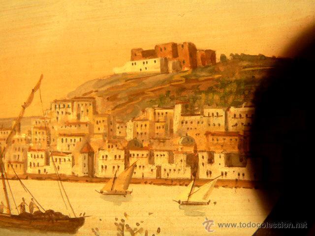 Arte: 3 miniaturas al óleo.Escuela veneciana, podria ser del xviii o anterior??gran calidad - Foto 3 - 120970326