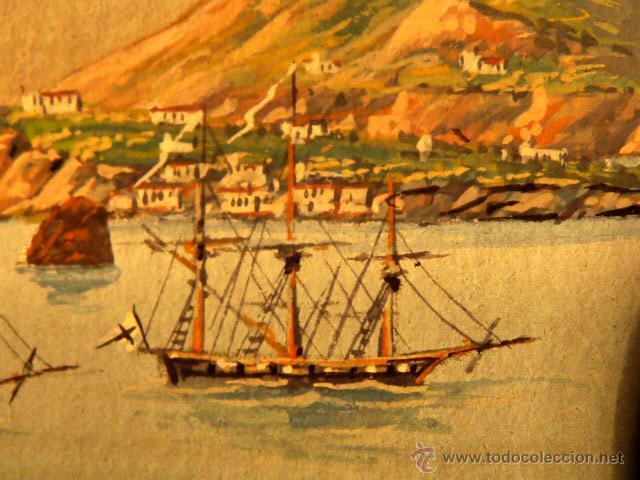 Arte: 3 miniaturas al óleo.Escuela veneciana, podria ser del xviii o anterior??gran calidad - Foto 9 - 120970326