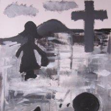 Arte: LÁMINA DE ARTE MODERNA ORIGINAL. Lote 47260435