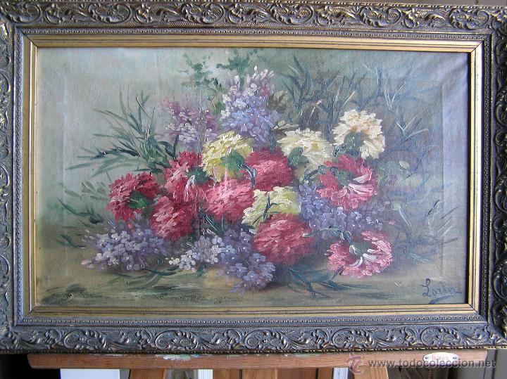 ÓLEO SOBRE TELA . FIRMADO LORIN ( MARIE LOUISE LORIN ( 1913 ) ). 30 X 50 CM. (Arte - Pintura - Pintura al Óleo Moderna sin fecha definida)