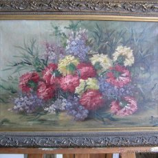 Arte: ÓLEO SOBRE TELA . FIRMADO LORIN ( MARIE LOUISE LORIN ( 1913 ) ). 30 X 50 CM.. Lote 47276091