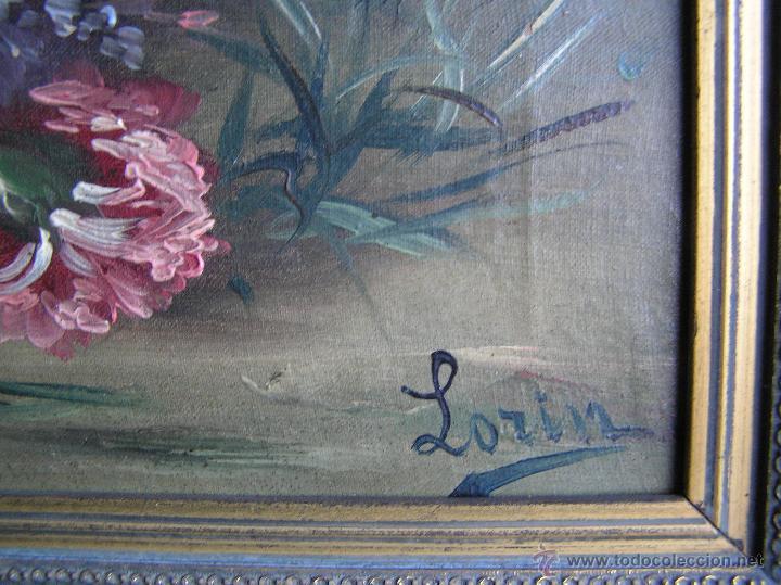 Arte: ÓLEO SOBRE TELA . Firmado LORIN ( Marie Louise Lorin ( 1913 ) ). 30 x 50 cm. - Foto 3 - 47276091