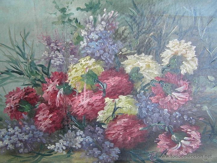 Arte: ÓLEO SOBRE TELA . Firmado LORIN ( Marie Louise Lorin ( 1913 ) ). 30 x 50 cm. - Foto 6 - 47276091