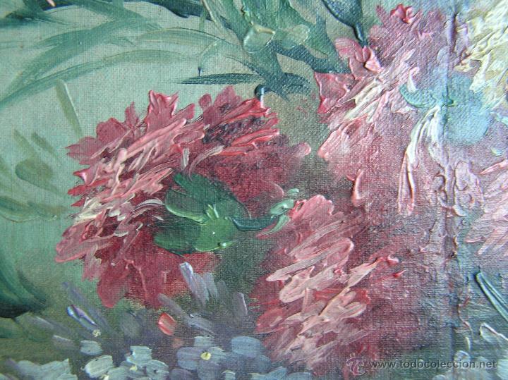 Arte: ÓLEO SOBRE TELA . Firmado LORIN ( Marie Louise Lorin ( 1913 ) ). 30 x 50 cm. - Foto 8 - 47276091