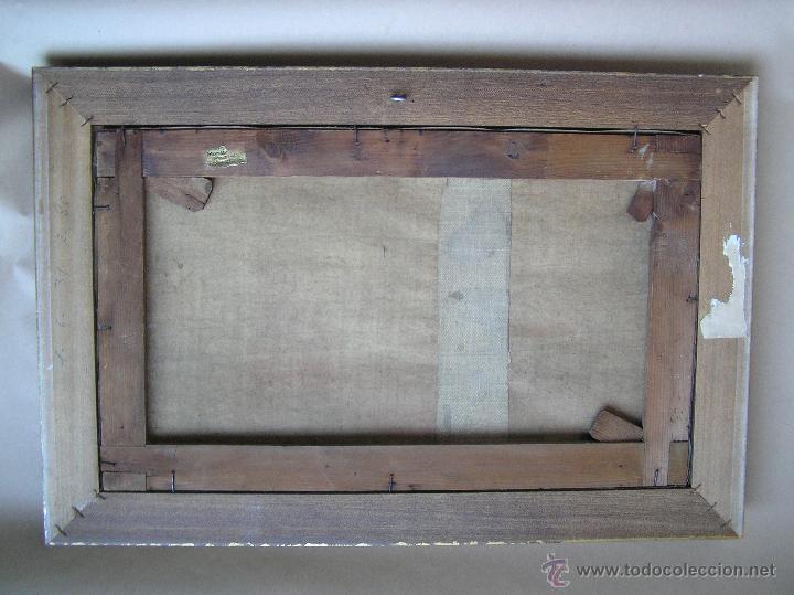 Arte: ÓLEO SOBRE TELA . Firmado LORIN ( Marie Louise Lorin ( 1913 ) ). 30 x 50 cm. - Foto 14 - 47276091