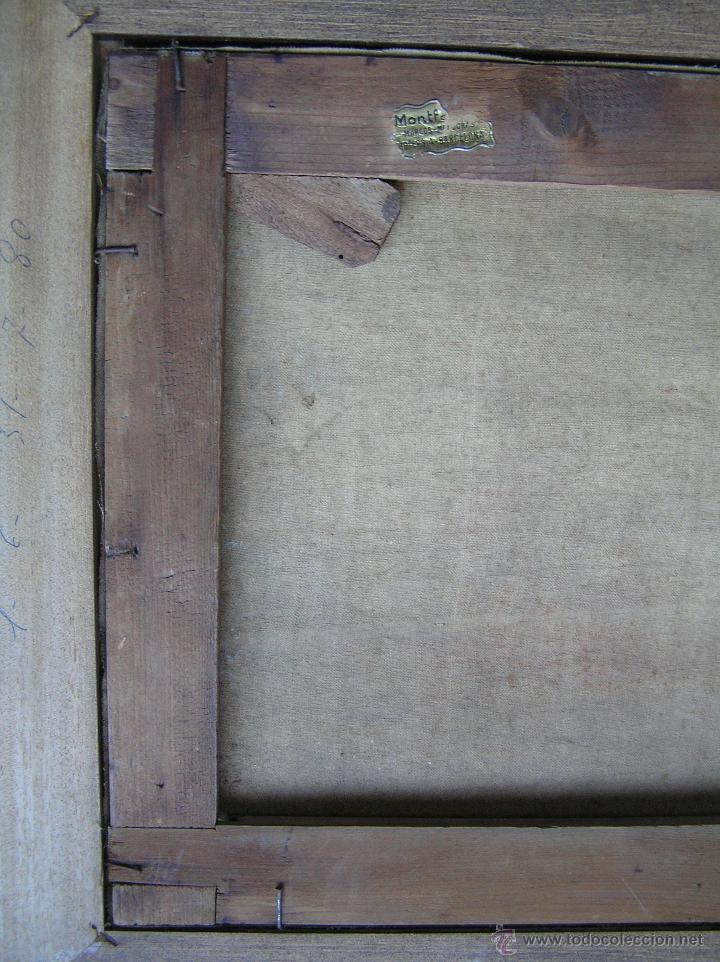 Arte: ÓLEO SOBRE TELA . Firmado LORIN ( Marie Louise Lorin ( 1913 ) ). 30 x 50 cm. - Foto 17 - 47276091
