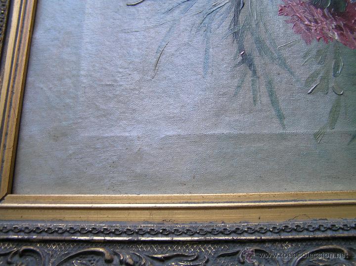 Arte: ÓLEO SOBRE TELA . Firmado LORIN ( Marie Louise Lorin ( 1913 ) ). 30 x 50 cm. - Foto 25 - 47276091