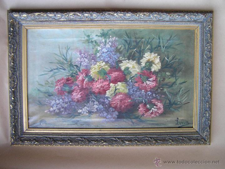 Arte: ÓLEO SOBRE TELA . Firmado LORIN ( Marie Louise Lorin ( 1913 ) ). 30 x 50 cm. - Foto 27 - 47276091
