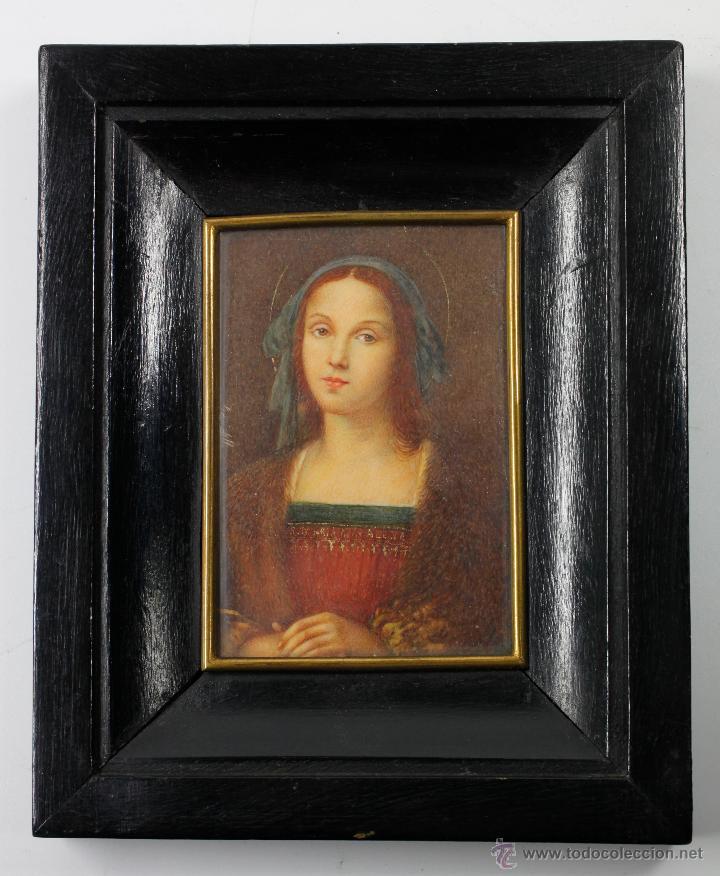 miniatura firmada gardelli, sobre placa de marf - Comprar Pintura al ...