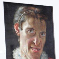 Arte: RICARD MARTÍ (1868-1936) RETRATO DEL TRANSFORMISTA, ACTOR Y CANTANTE LEOPOLDO FREGOLI (1867-1936).. Lote 47430575