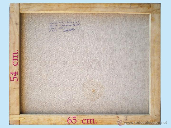 Arte: Reverso del cuadro, en bastidor. - Foto 5 - 47434173