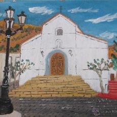Arte: IGLESIA DE CELIN (DALÍAS ) ALMERÍA , DEL PINTOR CRESPO. Lote 47479635