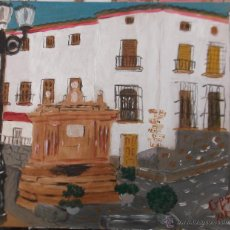 Arte: FUENTE DE FONDÓN , ALPUJARRA, DEL PINTOR CRESPO. Lote 47479642