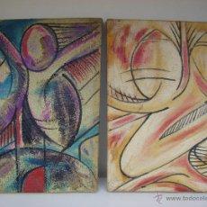 Arte: PAREJA DE CUADROS PINTADOS AL OLEO. Lote 47504824