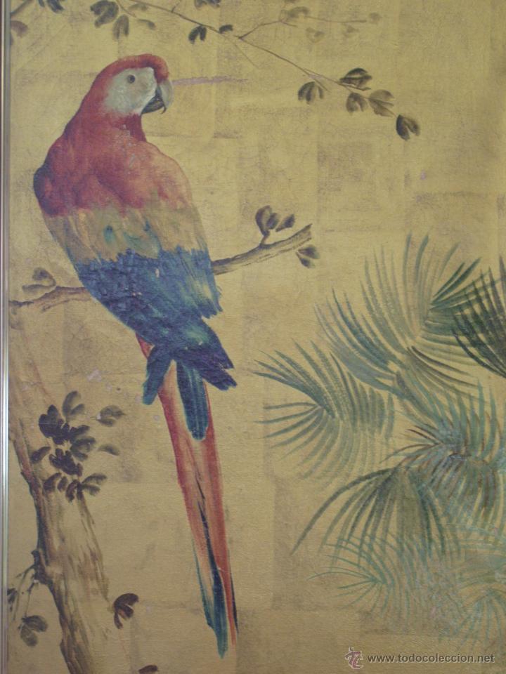 ÓLEO EN PAN DE ORO DE JOSE CASANOVA CON CERTIFICADO (Arte - Pintura - Pintura al Óleo Contemporánea )