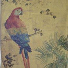 Arte: ÓLEO EN PAN DE ORO DE JOSE CASANOVA CON CERTIFICADO. Lote 47530039