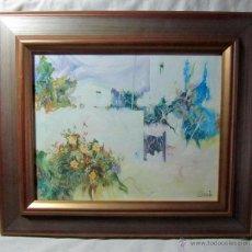 Arte: CUADRO AL ÓLEO ENMARCADO Y FIRMADO. Lote 47543059