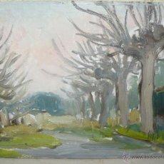 Arte: OLEO / TABLEX - ANÓNIMO - PAISAJE. Lote 47593275