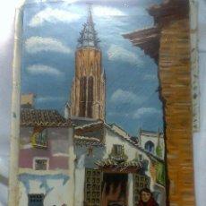 Arte: .-AGUADORA.- OLEO/ LIENZO ANTIGUO. . Lote 47684653