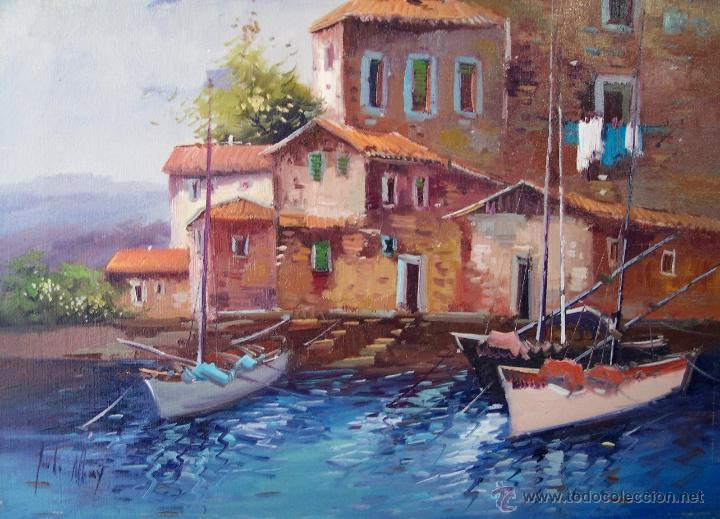 ÓLEO DE JORDI MOREY (Arte - Pintura - Pintura al Óleo Contemporánea )