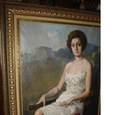 Arte: EXCELENTE OLEO ORIGINAL FRANCISCO RODRIGUEZ SÁNCHEZ CLEMENT, FIRMADO. ELCHE AÑO 1948.. Lote 26791348