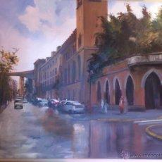 Arte: EL PALACIO DE LA MOTILLA DE SEVILLA, ALBERT SELMA. PAISAJE.. Lote 47762243