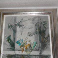 Arte: PINTURA CUADRO ÓLEO SOBRE TABLA DANIEL MERINO SINFONÍA EN VERDE.. Lote 47779113